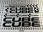 """16 Set CUBE Bicycles Bikes Decals Stickers Frames 11"""" COLORS Available A59W"""