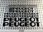 """17 Set PEUGEOT Bicycles Bikes Decals Stickers Frames 11"""" COLORS Available A59X"""
