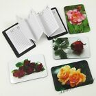 Roses Credit Card Sized Magnetic Address Book (Choose Your Rose) ~ New