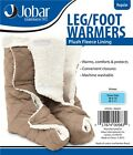 Leg & Foot Warmers Fleece Therapeutic Comfort Protect Warms Feet Washable Bed