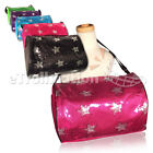 Внешний вид - Stylish Girls Dance Duffle Bag Gymnastics Cheer Sequin Stars 5 Color Option NEW