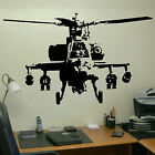 EXTRA LARGE BANKSY HELICOPTER WALL ART BEDROOM STICKER TRANSFER DECAL