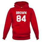 Brown 84 - Kids / Childrens Hoodie - Drew - Republic - 7 Colours