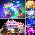 Mains Powered 100/200/300/400 fairy led string lights Christmas Garden Party New