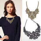 Vintage Women Jewelry Necklace Chain Statement Bubble Bib Chunky Collar Party