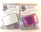 Card Caddy - the safe way to store your credit cards, aluminium case water proof