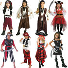 Caribbean Book Week Pirate Boys Fancy Dress Costume Girls Buccaneer Kids Outfit