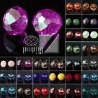 72Pcs Approx Crystal Czech Glass Beads Rondelle Faceted Jewelry 6.5x8mm