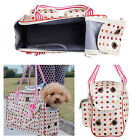 Oxford Small Pet Carrier Soft Sided Cat / Dog Comfort Travel Tote Bag Airline