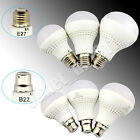 Brand New 6x B22 E27 7W/9W/12W Bayonet Golf LED Light Bulbs Lamps Ball Globe UK