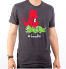 Sad Tyrannosaurus T Rex Dinosaur Eat triceratops hastag #foodie photo T-shirt