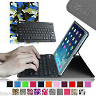 For Apple iPad Air iPad 5 5th Leather Case Cover w / Removable Bluetooth Keyboard