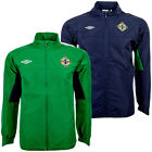 Northern Ireland Rain Jacket Umbro 134 146 152 158 S M L XL 2XL New