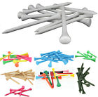 Wooden Golf Tees (40, 200, 500, 1000) White, Mixed or Natural 55mm 70mm or 83mm