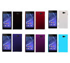 Hard Rubberized Matte Snap-On Slim Cover Case for Sony Xperia M2 D2303/2306/2303