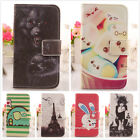 1x PU Design Housse Cuir Etui Coque Protection Case Cover Pour Sony Smartphone