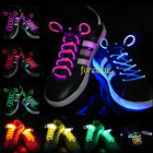 LED Flash Light Up Glow Shoelaces Shoe Laces Strings Disco Party Pub Skating Hot