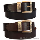 "Mens Bonded Leather Belt Milano1.5"" wide Casual Jeans Trousers Sizes M,L,XL,XXL"