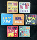 Hilarious Funny Coasters by Brainbox Candy LOTS OF DESIGNS Check 'em out! NEW
