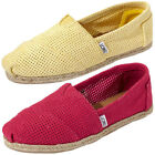 Mens Toms Classic Freetown Espadrills Canvas Pumps Trainers Flats Size