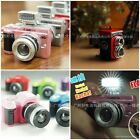 CUTE COLORFUL MINI CAMERA LUCKY CHARM KEYCHAIN-WITH FLASH LIGHT & SOUND EFFECT
