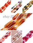 """10X30MM FACETED DROP AGATE GEMSTONE LOOSE BEADS STRAND 15"""",DIY JEWELERY MAKING"""