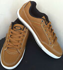 MENS CASUAL SHOES BOYS DESIGNER RETRO LACE UP FLAT CAMEL TRAINERS SHOES SIZE