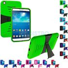 Hybrid Stand Rugged Hard Case Cover for Samsung Galaxy Tab 3 8.0 T311 T315 T310