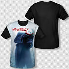 New The Joker Why So Serious Dark Knight All Over Front Sublimation T-shirt Top