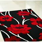 New Modern X Large Small Cheap Quality Red Colourful Pattern Thick Rug Runners