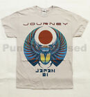 Journey - Japan 81 - mens silver t-shirt - Official - FAST SHIP