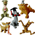 HAND MADE POLYRESIN DOG FIGURINE STATUE ORNAMENT GIFT SET ESTEE COLLECTION DOGS