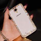 Fancy Handmade Bling Diamonds Crystals Clear Hard Case Cover For Samsung Galaxy
