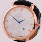2014 Dragon Classic Women Men Lady Leather Band Analog Quartz Wrist Watch
