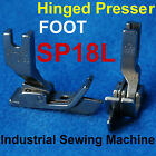 Industrial Sewing Machine Steel Hinged Presser Foot Sp18l Sp-18 Sp18 Left Guide