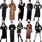Mens Ladies Monk Priest Sister Mary Nun Fancy Dress Costume Church Religious New