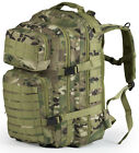 40L MOLLE Assault Pack Backpack/Rucksack Military Cadet Army Bag Nitehawk
