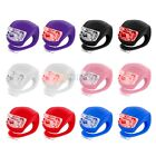 Waterproof LED Light Silicone Front Rear Back Wheel Bar for Bicycle Bike