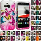 For Alcatel One Touch Evolve Hard Design Rubberized Skin Case Cover Accessory
