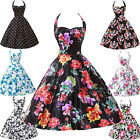 US NEW 50s Rockabilly Pinup Swing Evening Party Wedding Prom Vintage Retro Dress