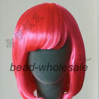 Popular Fashion Women's Girl Wig BOB Style Short Wig Party Show Wigs 16 Colors