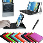 For LG G PAD 8.3 Wifi/Verizon 4G LTE Leather Slim Case Cover Bluetooth Keyboard