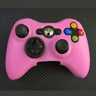 Anti-skid Silicone Case Cover Protective Bumper for Xbox 360 Game Controller BL