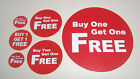 Promotional Display Stand Point Of Sale Stickers Labels Price Point Bogof