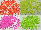 2000 Neon Color Opaque Glass Seed Beads Rondelle 3mm (8/0) Pick your Color