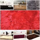 Sumptuous Luxurious Soft Super Long Cosy Shaggy 8 Colours 4 Sizes Rugs
