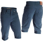 Mish Mash Mens Deck Short New Blue Chino Summer Shorts Clearance Stock Sale