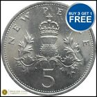 1968 TO 1989 Decimal Large 5p Your Choice of Date