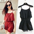 Fashion Sexy Womens Summer Celeb Playsuit Evening Party Jumpsuit Rompers Shorts