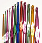 Metal Crochet Hook sizes 2mm to 8mm - Craft Knitting Yarn Needles